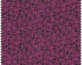 CLEARANCE - Springs Fabric - Small Packed Flowers - Purple - Designer Quilt Fabric - END of BOLT - Floral, Tonal, Black