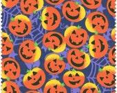 FAT QUARTER- Galaxy Fabrics - Pumpkins - Quilt Fabric