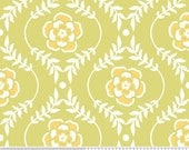 CLEARANCE - Riley Blake Designs, Decadence, Green Floral Fabric, Samantha Walker, Designer Cotton Quilt Fabric, Quilting Fabric