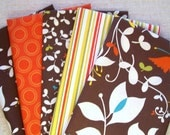 Chrysalis Medley - 5 Fat Quarter Bundle (No.85) - Designer Quilt Fabric
