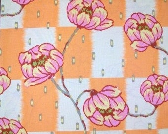 COUPON CODE SALE - End of Bolt - Amy Butler, Water Lily, Lotus Collection, Clay, Rowan Westminster,  100% Cotton Quilt Fabric, Quilting