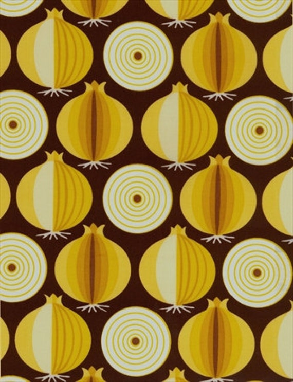 Blank Fabrics - Veggie Patch - Onions - Quilt Fabric - END of BOLT