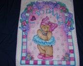 Dancing Bear Pink quilt