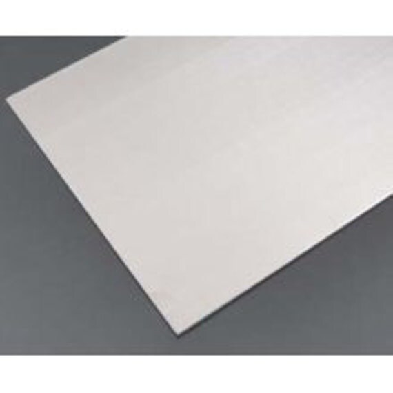 """1 Sheet Pure Aluminum Sheet - Unfinished - 18 gauge (Medium Weight) - 6"""" x 12"""" - HARD TEMPER"""