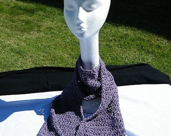 256 - Orchid Mist Scarf