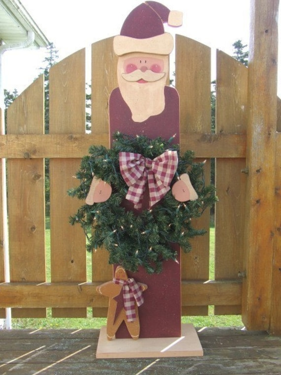 Wood Santa Patterns