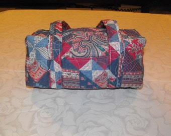 Quilted Fabric Purse
