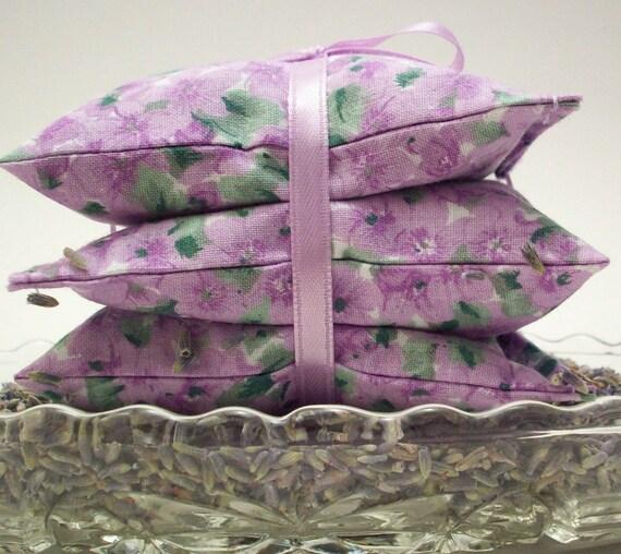 Lavender Sachets - Pretty Primroses Handmade on Etsy