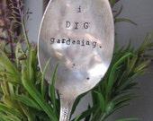 Inspirational Spoon Garden Markers- I Dig Gardening