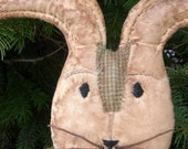 Spring Primitive Grungy Peter Rabbit Wall Or Door Hanging