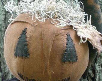 Ichabod The Spooky Extreme Primitive Halloween Pumpkin Guy