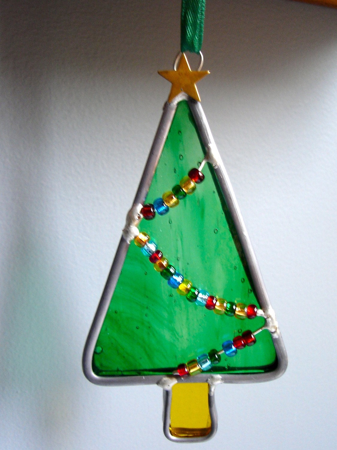 Little Christmas Tree in Stained Glass