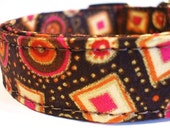 FREE SHIPPING - Collars With Curb Apeal - Fall Fiesta - SML