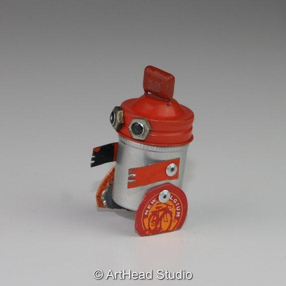 ArtHead BabyBot - Vintage Kodak Canister Robot (ABB-022)