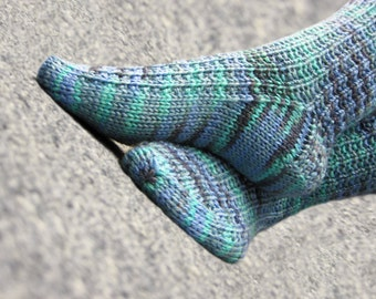 PATTERN for Cozipeds Knit Socks