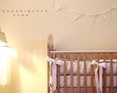CHIC....crib bedding bumper set