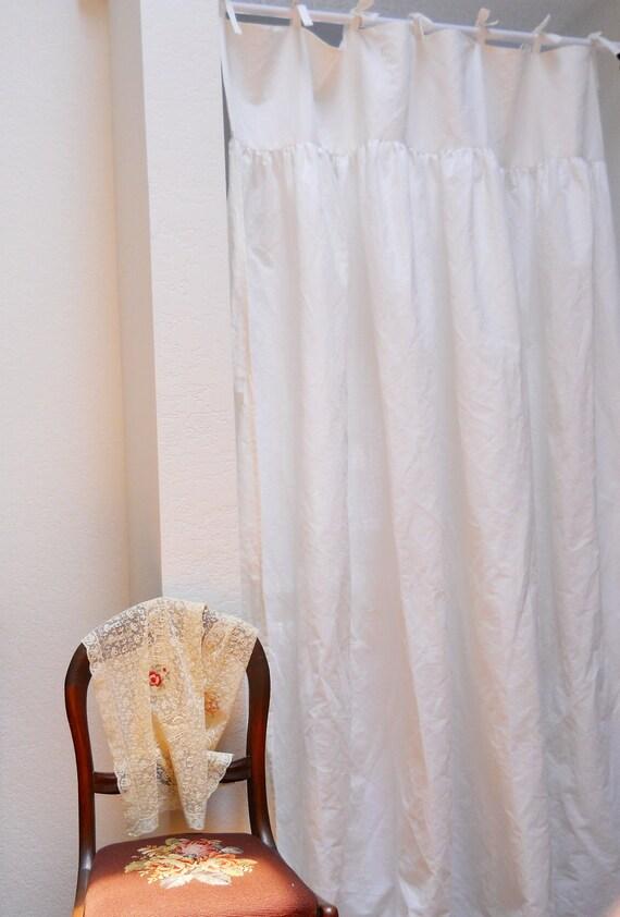 IVA...curtain panel ...100% linen