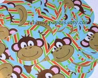 Monkey Stickers,  Stickers for Kids