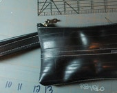 Recycled Inner Tube Wristlet Clutch