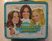 Charlies Angels metal lunchbox