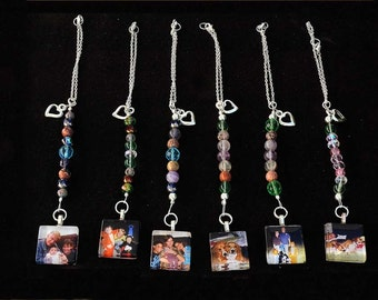 Rearview Mirror Dangle with Custom Charm