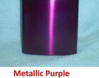 Ready To Ship! 8-oz Metallic Purple Stainless Steel Liquor Flask + FREE Flask Funnel +In-Country Shipping! More Color Options Listed Inside!