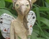 SOLD   Grandmothers Gift.  Indoor/outdoor ooak sculpture