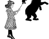 Her Shadow Puppet (Art Print)