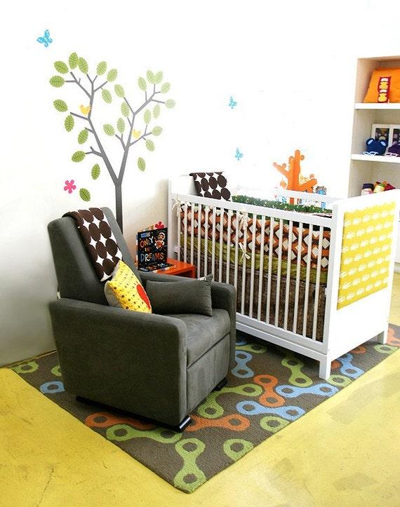 Crib Bumper Set , Bumper Guards , Bumper Pads , Crib Bedding Peter Pepper Pals