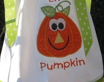 Halloween PUMPKIN Pillowcase dress