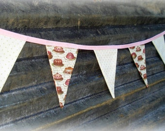 sweet birthday, valentine, tea party, mother's day tea bunting banner