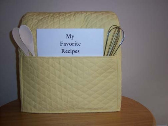 Kitchen Mixer Cover (Yellow). I also have a toaster cover to match this in a seperate listing.