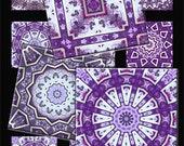 Purple Passion Digital Collage