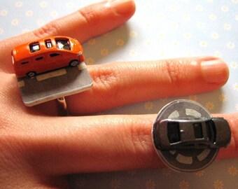 Road Trip Adjustable Rings