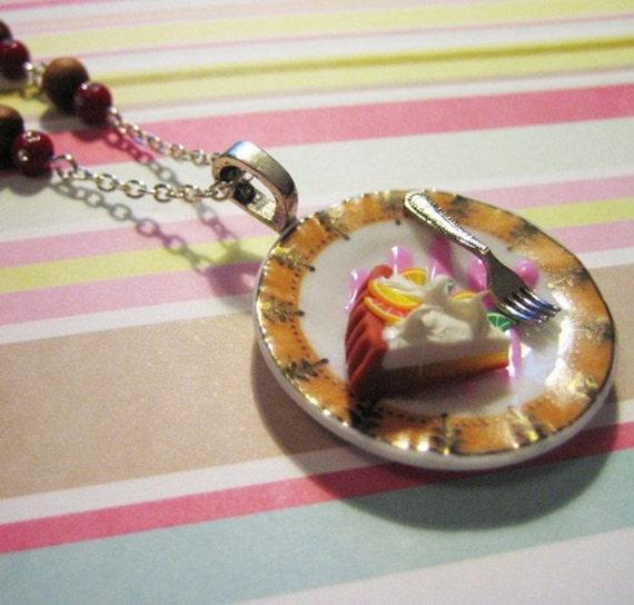 Lemon Meringue Love Necklace