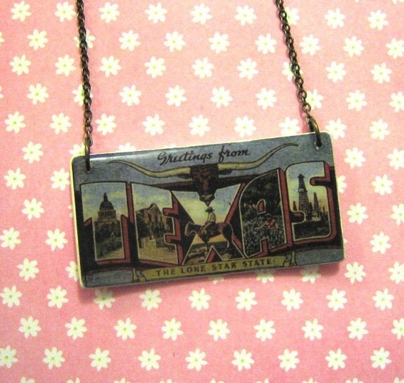 RESERVED ASHLEY Tesxas necklace