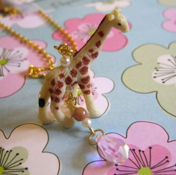 Jimmy Giraffe Necklace