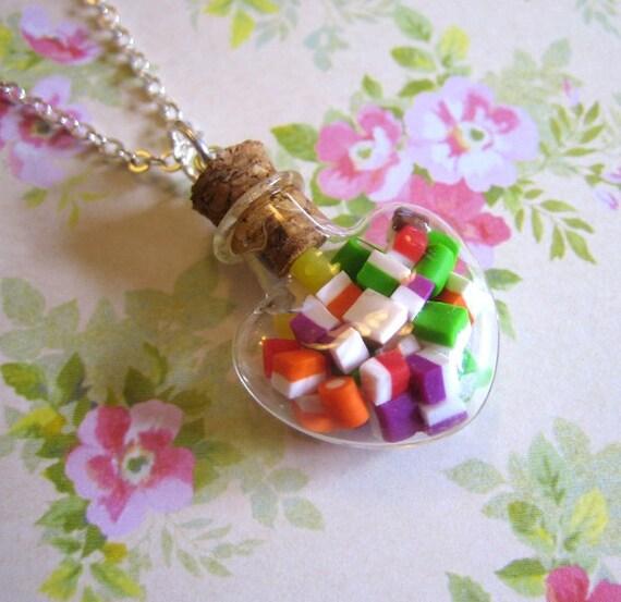 Little Dollys Secret Bottle Necklace