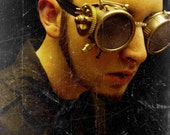 Custom Made SteamPunk Goggles By Panzer Kitty