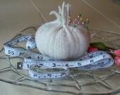 White Onion Pincushion
