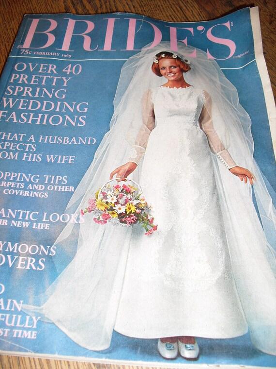 Vintage  February 1969 Bride's Magazine