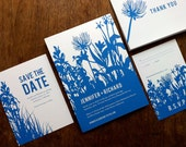 Bluebell Printable Wedding Correspondence Set
