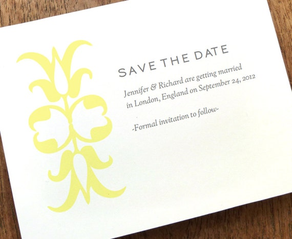 Printable save the date save the date card template gray for Download save the date template