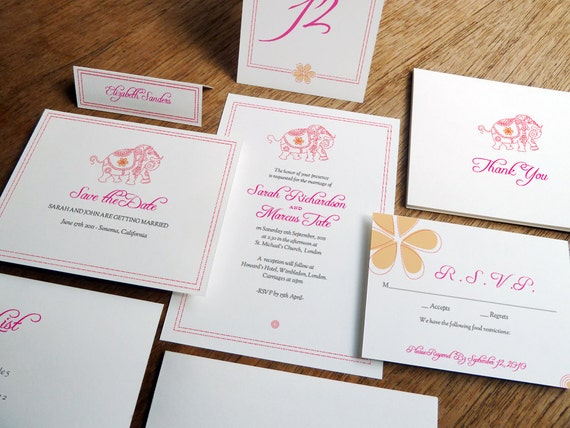 Printable Wedding Invitations Kits: Printable Complete Wedding Invitation Kit Mumbai By Empapers