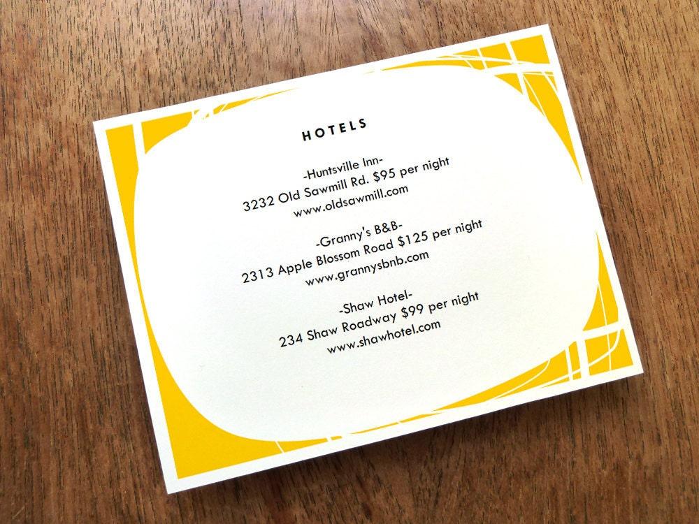 Wedding Gift Enclosure Card Wording : Wedding Registry Cards Wedding Enclosure Card