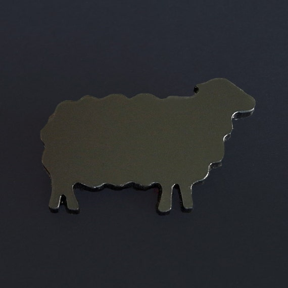 Arnold the Black Sheep brooch