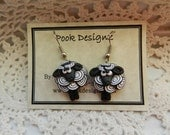 Pook's Cutest Ever Sheep Dangly Earrings
