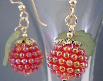 Christmas Berries Earrings