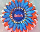G0 GaToRs FaN FlOwEr....and FREE matching headband....