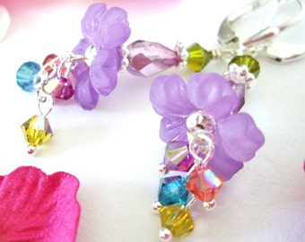 Lilac Nectar - Earrings